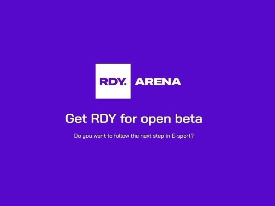 Rdy arena öppen beta