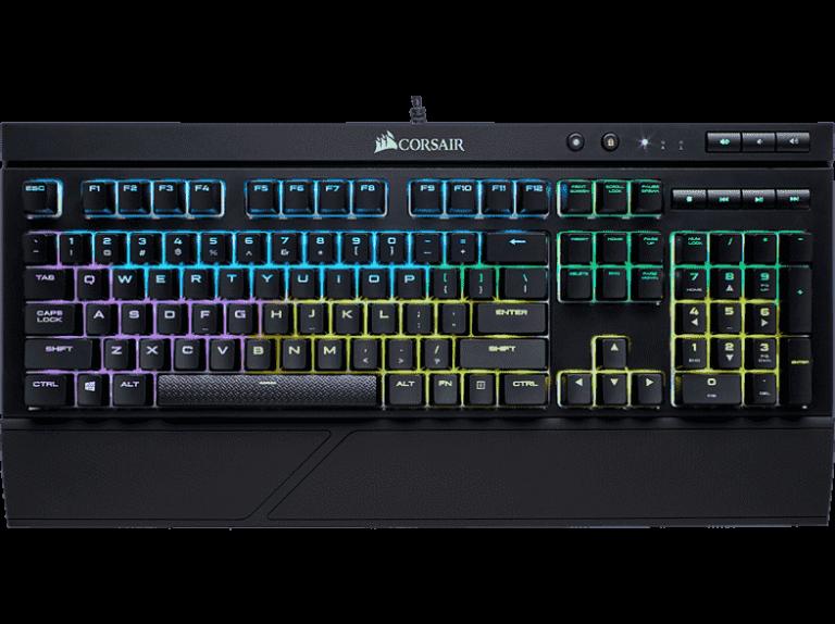 corsair k68 mekaniskt tangentbord
