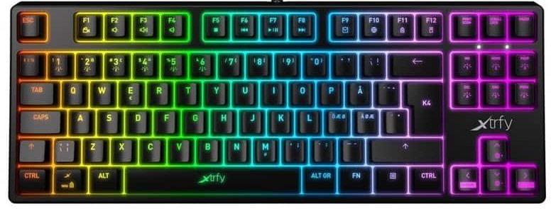 mekaniskt tangentbord från corsair