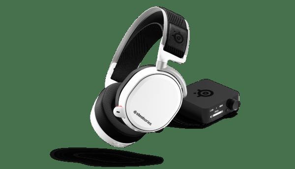 Arctis Pro Wireless gaminghörlurar vit